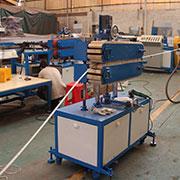 鐵片包膠生產線