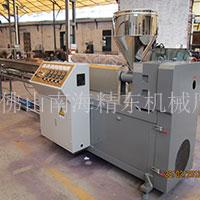 安徽陳先生PU氣管機.塑料擠出機生產視頻