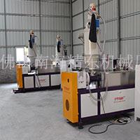 越南赵先生塑料pvc管材挤出机视频