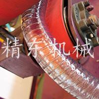 pvc鋼絲增強管軟生產線視頻