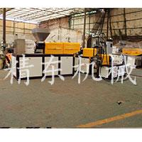 PVC电缆料塑料造粒机设备