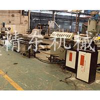 高速PE PP PVC铁丝包覆生产线 包胶机