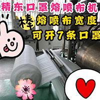 口罩熔喷布挤出机 熔喷布设备生产线