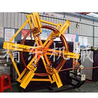pe pvc管材塑料收卷機設備
