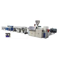 PVC雙螺桿管材成型機 管材設備