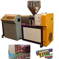 PU氣動管擠出生產線 PU軟管設備