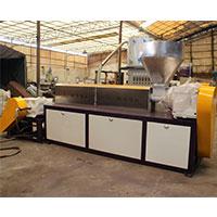 PVC透明料造粒机 二阶造粒机