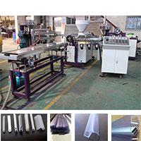 PVC衛浴膠條軟硬共擠生產線